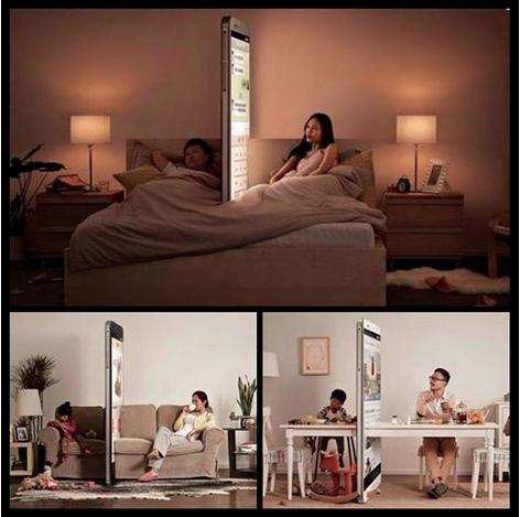 smartphone wall